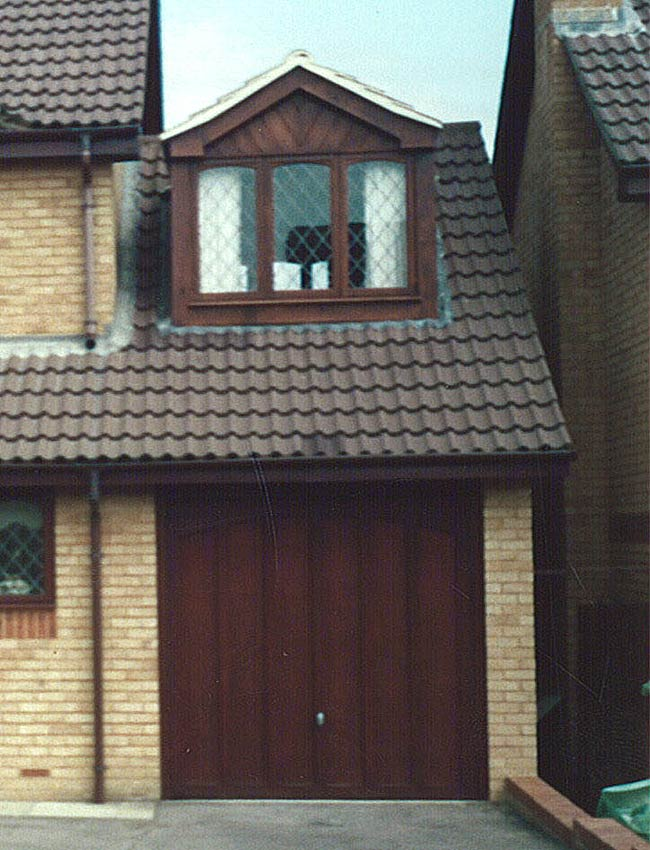 Dormer built over a garage in the Chandler's Ford area